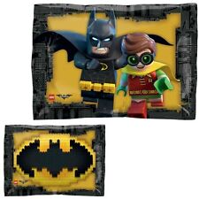 Party Supplies Birthday Boys Super Hero DC Batman Lego Square Shape Foil Balloon