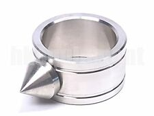 EDC Gear Stainless Steel Glass Breaker Spike Tactical Ring Large