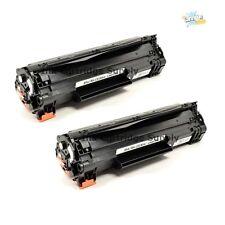 2 Compatible  CE285A 85A Black Toner Cartridge for HP LaserJet M1217nfw MFP