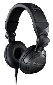 Technics Eah-Dj 1200 Pro on Ear Dj Headphones Swivel-Mounted Removable Cable