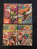 HOUSE OF MYSTERY Silver Age lot of 4: #159,160 (KEY: 1st SA Plastic Man),161,172