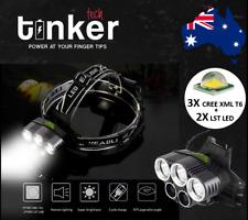50000LM XM-LT6 Q5CREE LED Head Light TorchUSB waterproof Headlight Reachargeable