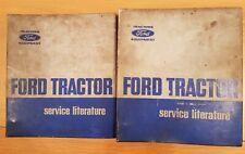 ORIGINAL FORD DEXTA 2000 - MAJOR 5000 TRACTOR REPAIR MANUAL - 2 VOLUMES