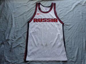 Russia Basketball Vintage 1990's Reebok Jersey