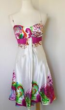 Beautiful LA FEMME White Frontal Layered Dress Size 2