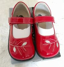 New See Kai Run Toddler Girl's Adeline Red Patent Leather Mary Janes Shoes Size9