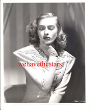 Vintage Susanna Foster AS Joan Crawford '41 GLAMOUR Publicity Portrait