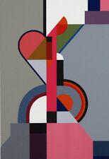 Dexel Walter Bauhaus handsigniert und nummeriert, Serigr. in 27 Farben