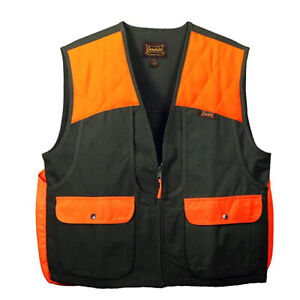 Gamehide Briar-Proof Upland Vest 3ST-OL Olive/Blaze Orange