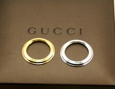 New Gucci 2 Metal Bezel Set - Gold and Silver - Super Special  23% OFF