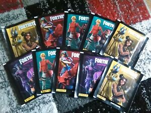 Fortnite Black Frame Series Sticker Collection - 10 x Sealed Packs (50 Stickers)
