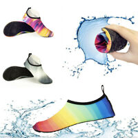 US Womens Mens Water Shoes  Aqua Socks Outdoor Beach Swimming Quick Dry Exercise