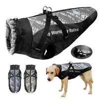 Hundemantel Wasserdicht Grosse Hunde Regen Wintermantel Hundejacke Reflektierend
