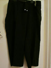 Black M&S Trousers in Size 28 S - NWT - Petite - L27