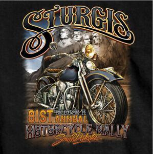 2021 Sturgis Shirt Mount Rushmore Black Hills Rally Motorcycle South Dakota