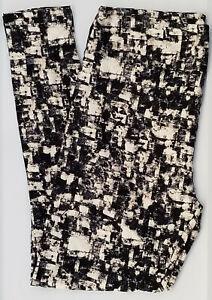 TC LuLaRoe Tall & Curvy Leggings Multi colored Tie Dye Print NWT E45