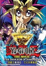 DVD Yu Gi Oh! Duel Monsters Movie The Dark Side of Dimensions English Dubbed