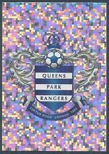 TOPPS 2012/13 PREMIER LEAGUE #193-QUEENS PARK RANGERS TEAM BADGE-SILVER FOIL