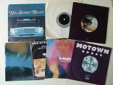 7x 7 Inch Singles Classic 80's Themes Roxy Music Stranglers Stevie Wonder Lennon