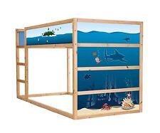 Unterwasserwelt-Möbelsticker / Aufkleber für KURA von IKEA - Möbelfolie - IM23