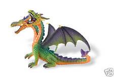 Dragón con 2 Cabezas Fantasía Bullyland 75596 NUEVO