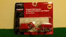 1/64  Farmall 560 Tractor With Mounted Picker/Wagon.....NIP