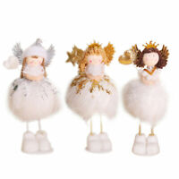 3pcs Ornament Angel Star Love Heart Decoration Doll Ornament Craft for Christmas