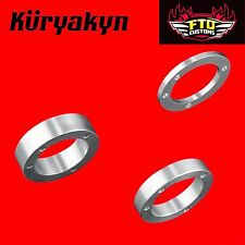 Kuryakyn Air Cleaner Spacers Bolt Pattern for CV Carb/Cable Throttle Delphi 8512