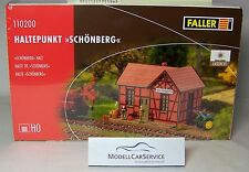 Faller H0 : 110200 Point d'arrêt Schoenberg - Lasercut Kit / Neuf 07-2017