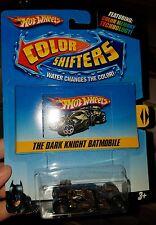 2009 Hot Wheels THE DARK KNIGHT BATMOBILE Color Shifters BATMAN TUMBLER