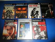7 x PS2 Playstation 2 Spiele