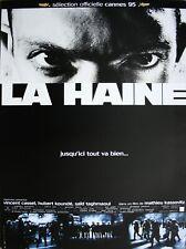 LA HAINE Affiche Cinéma Originale ROULEE 53x40 Movie Poster Mathieu Kassovitz