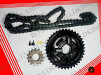 2 Set Genuine Royal Enfield Chain Sprocket Kit UCE Classic 500cc