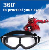 Winter Snow Skate Skiing Glasses Goggles Snowboard Sunglasses Anti Wind Eyewear