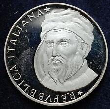 """1986   Repubblica Italiana    500  lire  Fondo Specchio  """" Donatello """""""