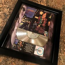 David Bowie Ziggy Stardust Platinum Record Album Disc Music Award Grammy Riaa