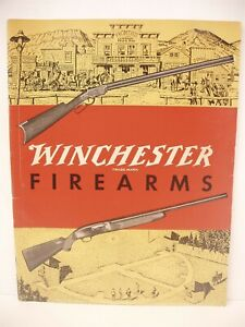 VINTAGE Original 1957 WINCHESTER Firearms Information Booklet Catalog