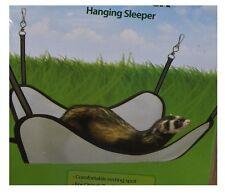 Hammock for Ferret Chinchilla or Rats - Grey - Easy & secure attachment