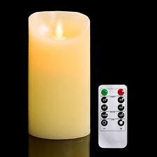 Señora de milagro oración religiosa Saint LED Sin Llama Devocional Vela con Temporizador