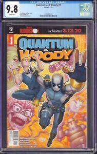 Quantum and Woody #1 (Valiant, 2020) CGC 9.8