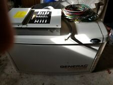 Generac Stand By Gas 8KW Generator & Transfer Switch Used Local Pick Up.
