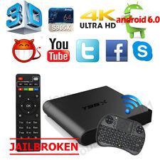 4K S905X T95X 1G+8G Mini Smart TV Box Android 6.0 Quad Core WIFI +Free Keyboard