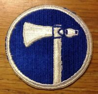 ORIGINAL WWII/1950's - U.S. 19th CORPS PATCH CUT EDGE -  NEW OLD STOCK