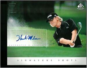 HUNTER MAHAN 2005 SP Golf Signature Shots Auto Autograph 8x10 Upper Deck #HM