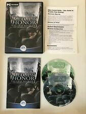 Medal of Honor Allied Assault - PC Game - 2 Discs, Manual - TESTED
