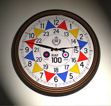 RAF Sector Clock WW2 Operations Room, Battle of Britain, RAF 100 Souvenir Clock