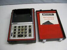 RARE MACHINE A CALCULER calculatrice SANYO ICC 82 D VINTAGE à TUBES vintage 1970