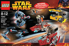 LEGO STAR WARS ULTIMATE SPACE BATTLE 7283 4 FIGURES RARE 100% COMPLETE GUARANTEE