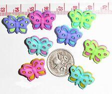 Novelty Buttons Embellishments Butterflies # 45