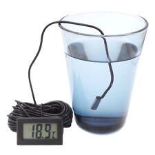 Thermometer digital LCD -50+110°C Temperatur Anzeige 1m 2m 3m 5m Innen Außen Aqu